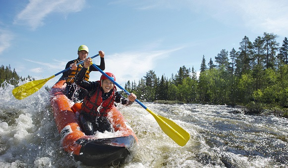 Travel insurance activities, canoeingg