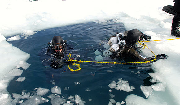 Ice diving insurance, onlinetravelcover.com