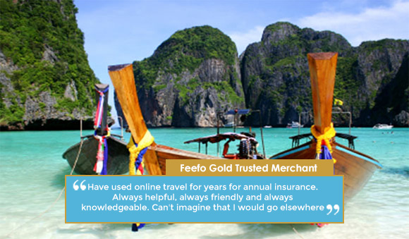 Annual multitrip travel insurance