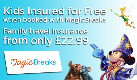 MagicBreaks Travel Insurance for Disneyland Paris